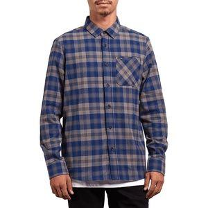 Volcom Caden Classic Flannel Button Up Down Shirt